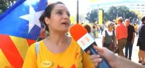 V�DEO: 'N'estem tips, volem una data, unes plebicit�ries, votar, i que el m�n ens escolti'