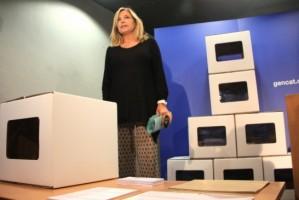 Les urnes del 9-N arribaran a pr�cticament tot Catalunya