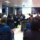 Xerrada de Vicent Partal avui a la seu del CIEMEN a Barcelona