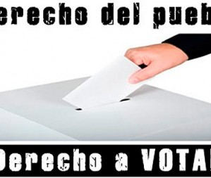 Sindicalistes espanyols en favor del dret de decidir