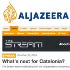 Al-Jazeera demana als catalans que expliquin la situaci� de l'independentisme