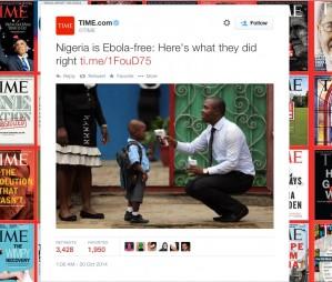 M�s enll� d'una Nig�ria lliure d'Ebola