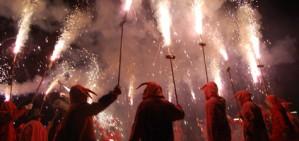 Baixada de l'�ngel per Santa �rsula a Valls
