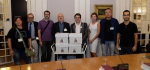 La junta electoral valida les 90.000 signatures de la ILP per una RTVV p�blica