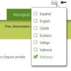 El Ministeri d'Educaci� espanyol ofereix d'estudiar angl�s en catal�, mallorqu� o valenci�
