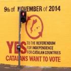 Nou mural a Belfast en solidaritat amb Catalunya i en favor del 9-N