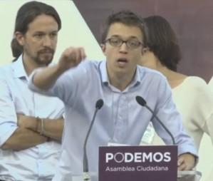 ��igo Errej�n (Podem) s'explica sobre el dret de decidir dels catalans