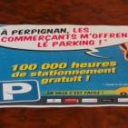 'P�rquing gratu�t' al centre de Perpiny�, supera les expectatives