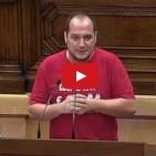 David Fern�ndez carrega contra el 'cinisme' del PSC sobre el pluriling�isme de l'estat espanyol