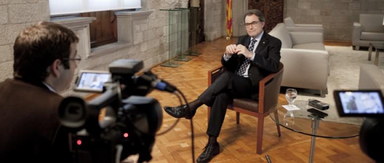 Artur Mas: 'El govern espanyol ha traspassat la l�nia del rid�cul'