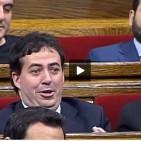 De Gispert perd la paci�ncia amb un diputat del PP: 'Senyor Coto, calli!'