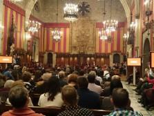 Tomeu Mart�, Rosa Serrano i Emigdi Subirats reben el Premi d'Actuaci� C�vica