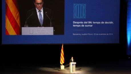 V�deo de la confer�ncia �ntegra d'Artur Mas a l'auditori del F�rum