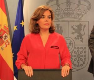 Sa�nz de Santamar�a: 'Fa tres anys que fem propostes positives per a Catalunya'