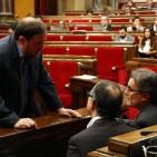 Comen�a la reuni� entre Mas i Junqueras per a desencallar el proc�s