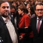 Junqueras ofereix a Mas la presid�ncia dels divuit mesos si CiU perd les eleccions