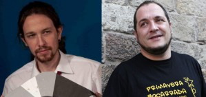 David Fern�ndez respon a Pablo Iglesias: 'Una abra�ada sincera i sencera'