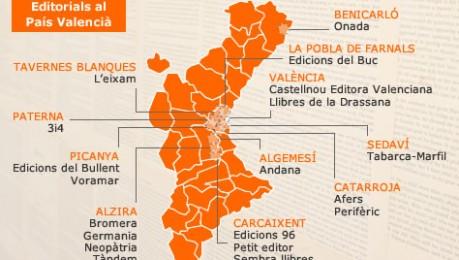 Mapar les editorials del Pa�s Valenci� (Ampliaci�)