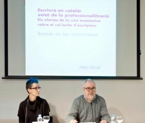 Nom�s un 10% dels escriptors en llengua catalana viuen d'escriure