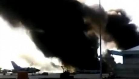 Un F-16 grec s'estavella a Albacete i deixa deu morts