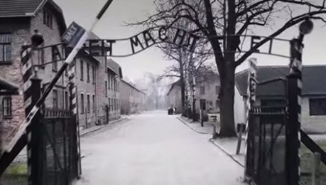 Les estremidores imatges d'Auschwitz des d'un drone