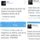 The police identify seventeen Twitter profiles making anti-Catalan tweets against the victims of the air crash
